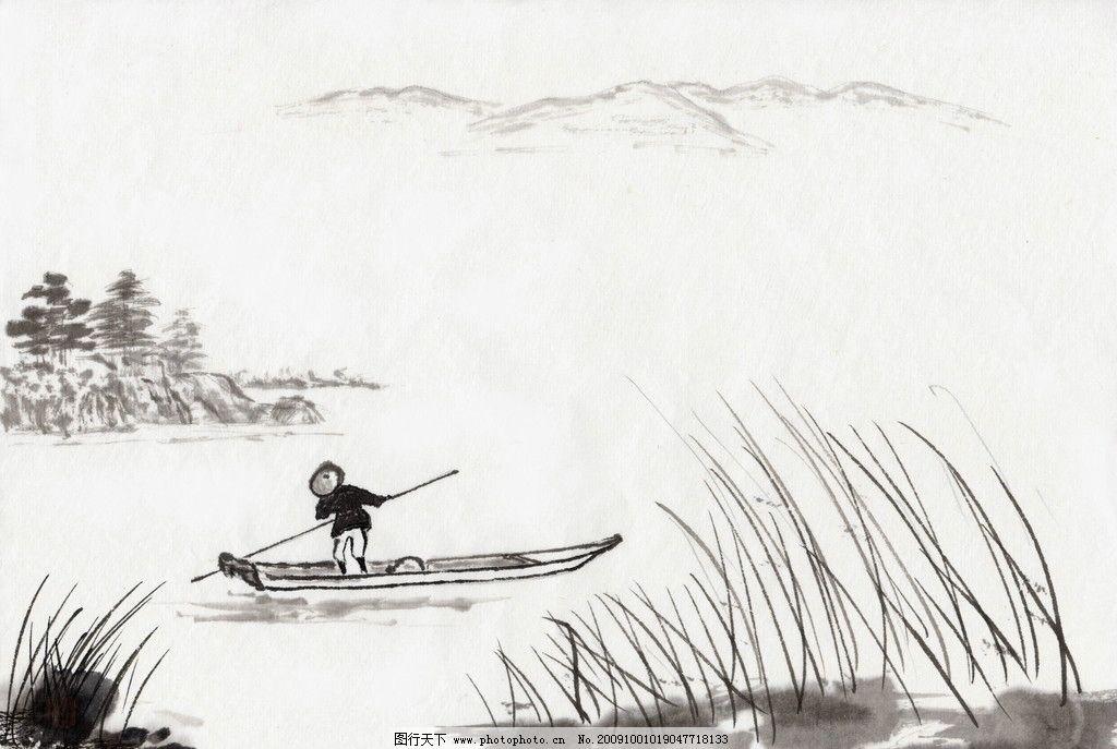国画 风景画 装饰画 文化艺术 绘画书法 国画系列 设计图库 jpg 水墨