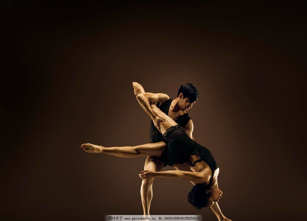 舞蹈 动作 演员 优美 职业人物 摄影
