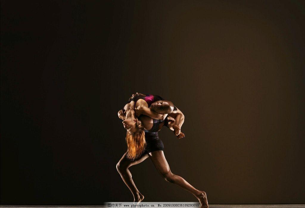 舞蹈 动作 演员 优美 双人舞 合作 职业人物 摄影