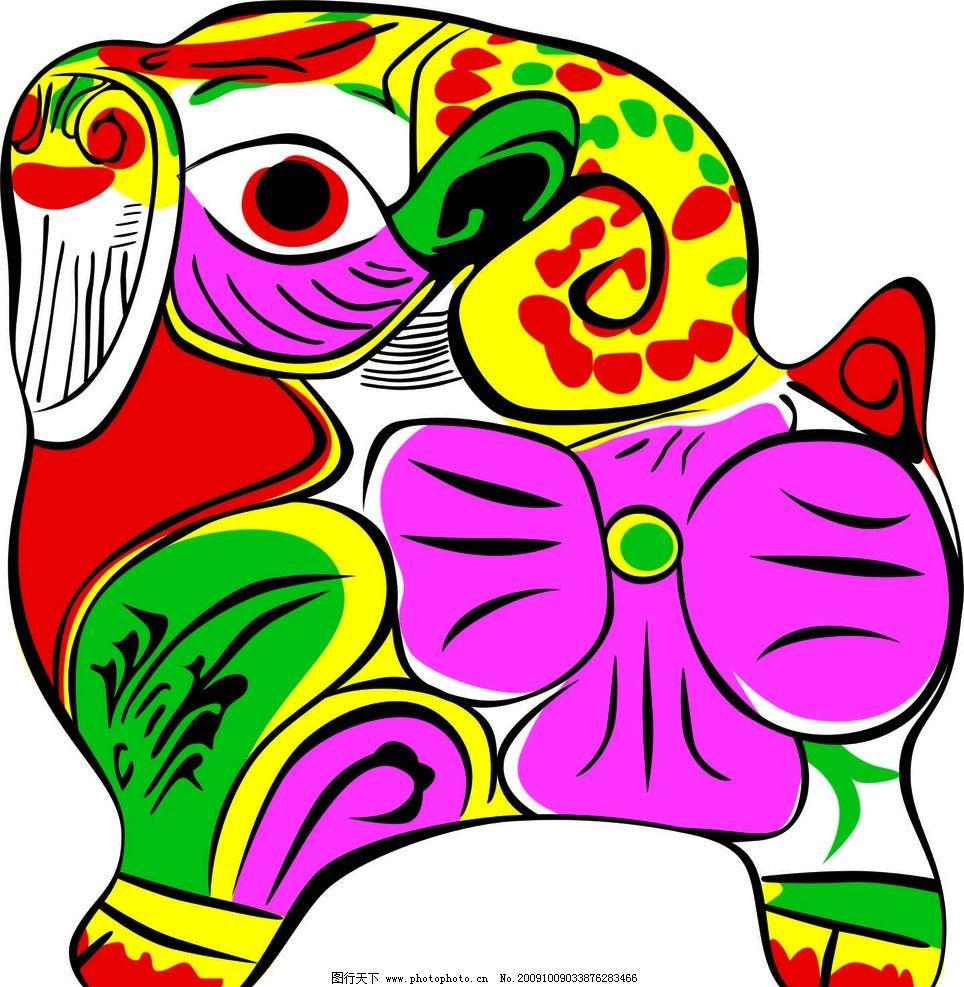 动物吉祥图案图片