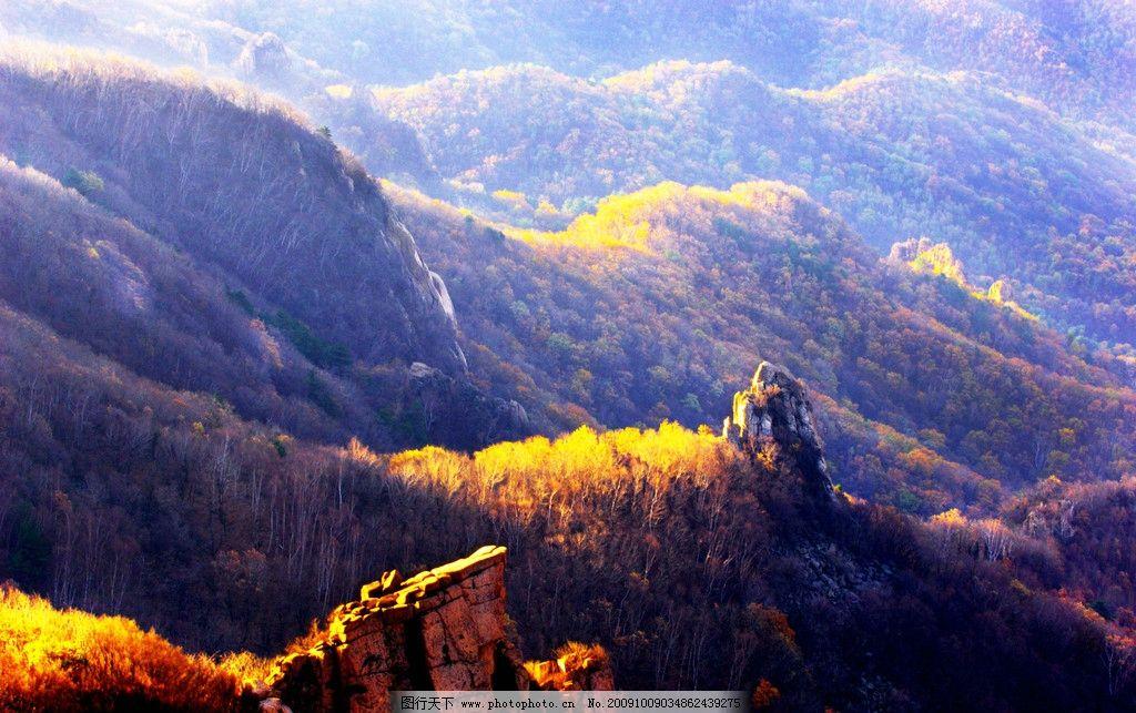 祖山秋韵 风景 秋天 山峰 秋色 自然风景 自然景观 摄影