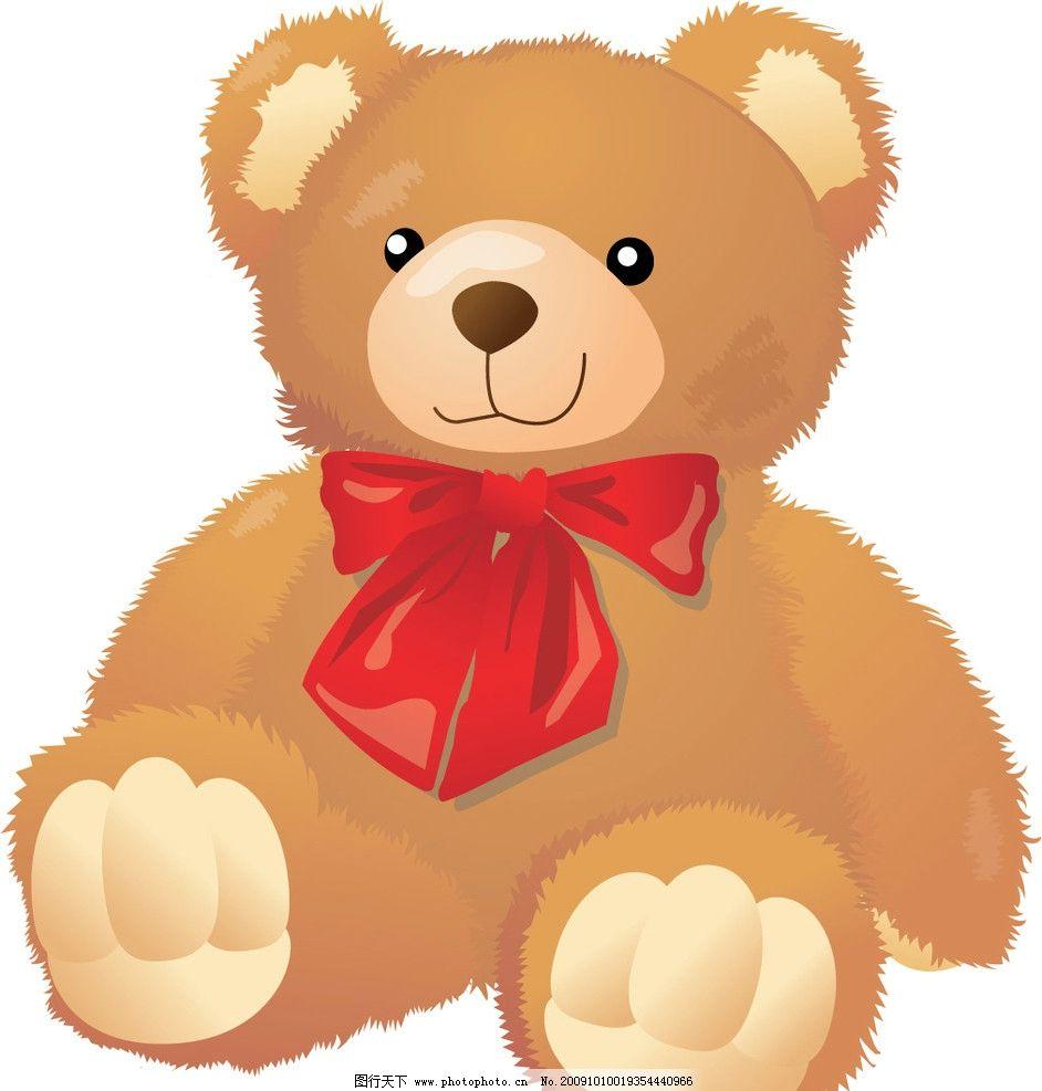 活泼可爱的小熊图片