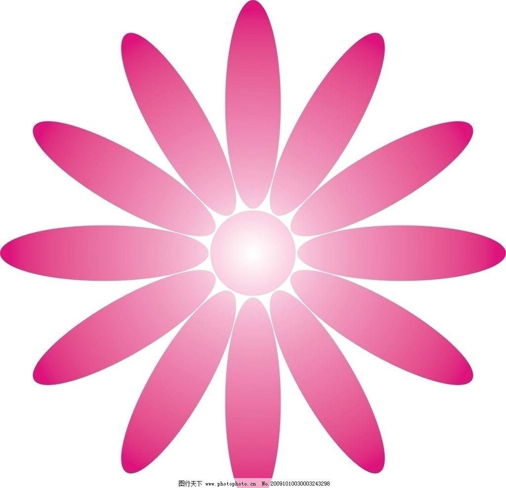 花朵图形图片,矢量-图行天下图库