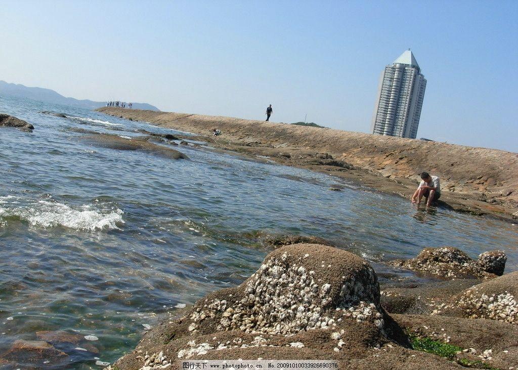 青岛第二海滨浴场图片