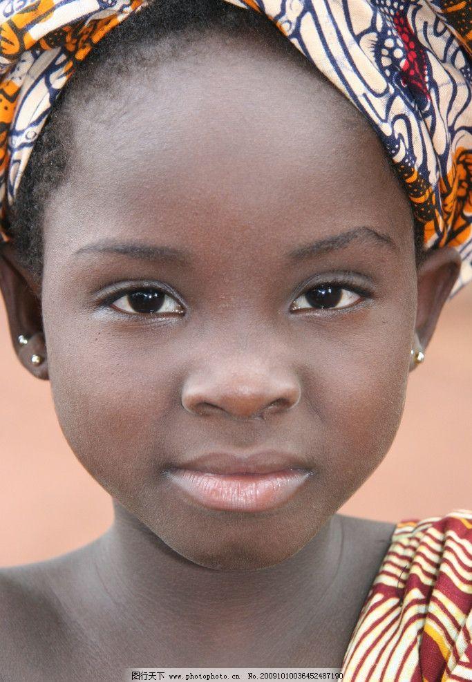 黑人少女 黑人小女孩 黑人发型 美少女 儿童幼儿 摄影