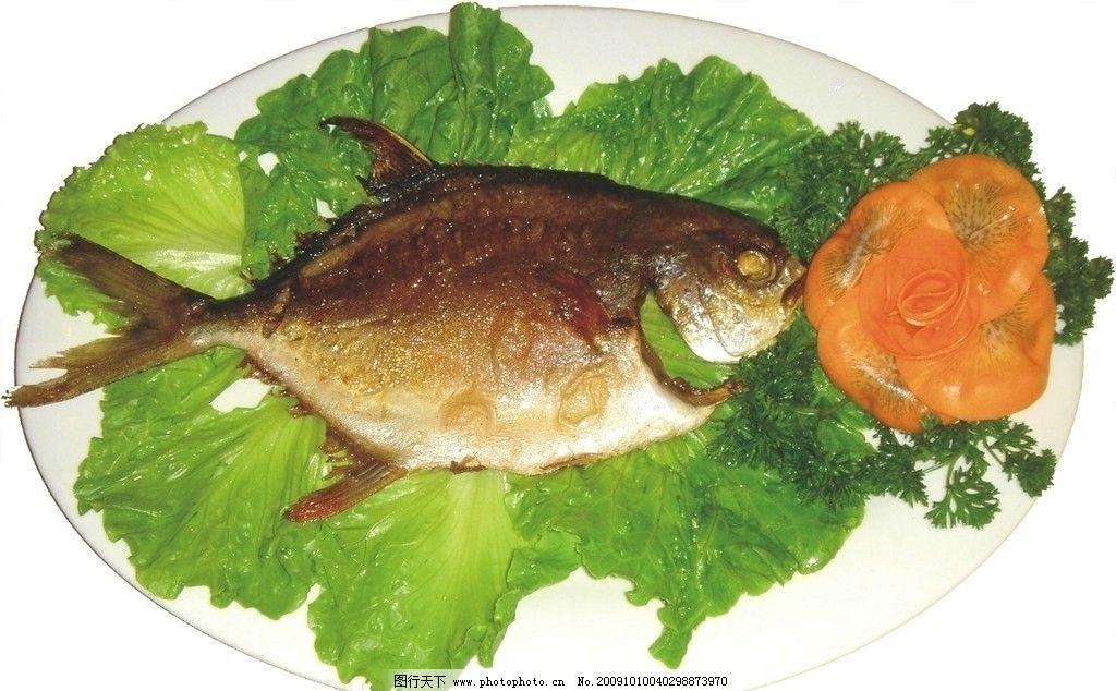 香煎水咸鱼图片