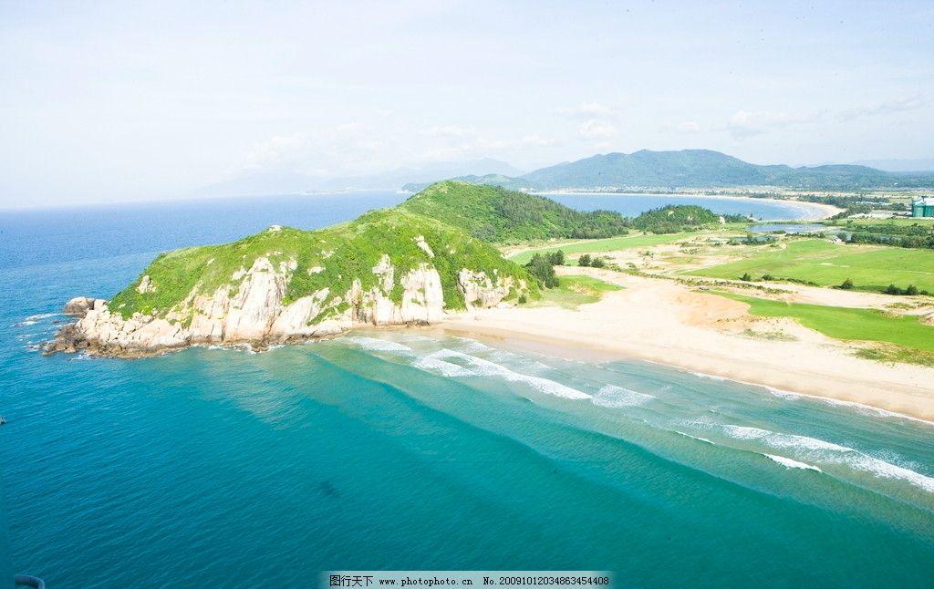 航拍明珠半岛图片
