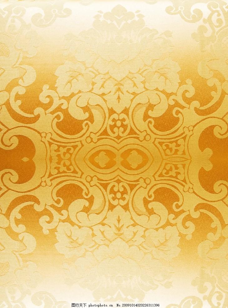 金色欧式花布高清 金色欧式花布高清图片 花纹 材质 背景 面料