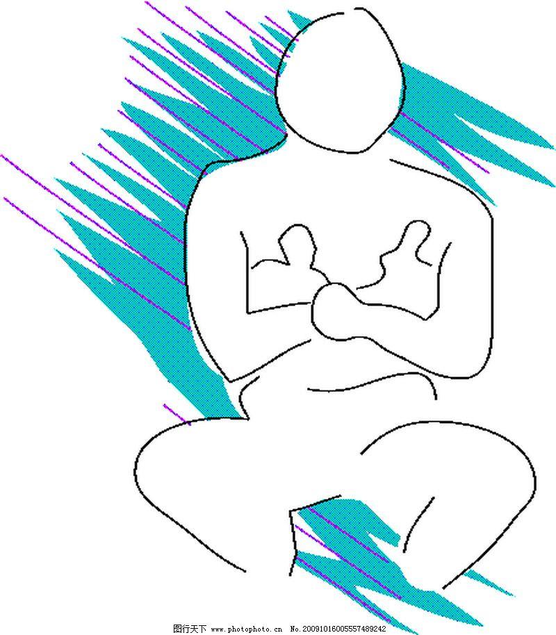 身体语言0017_其他_矢量图_图行天下图库