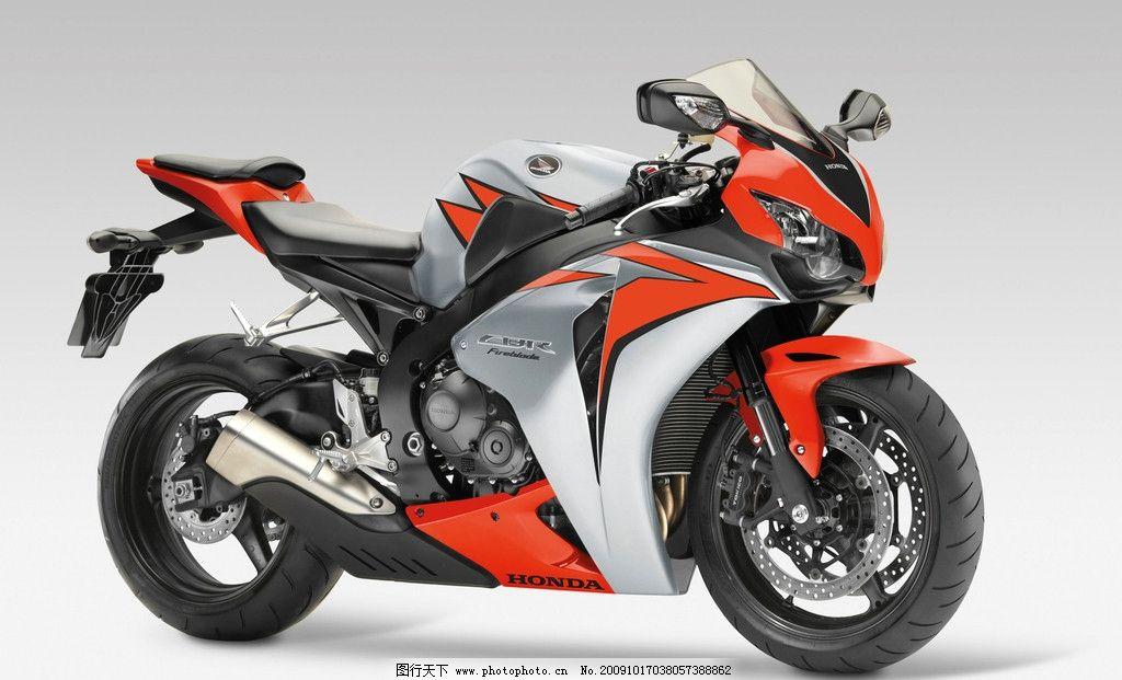 摩托车 跑车 机车 本田 cbr fireblade 极速 交通工具 现代科技 摄影