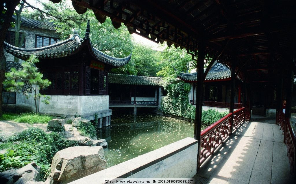 建筑园林图片