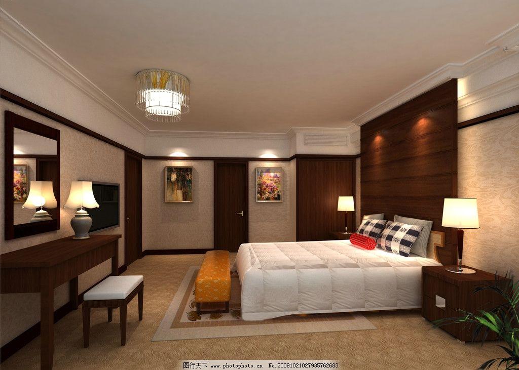 酒店单人客房 室内设计 环境设计 设计 72dpi jpg