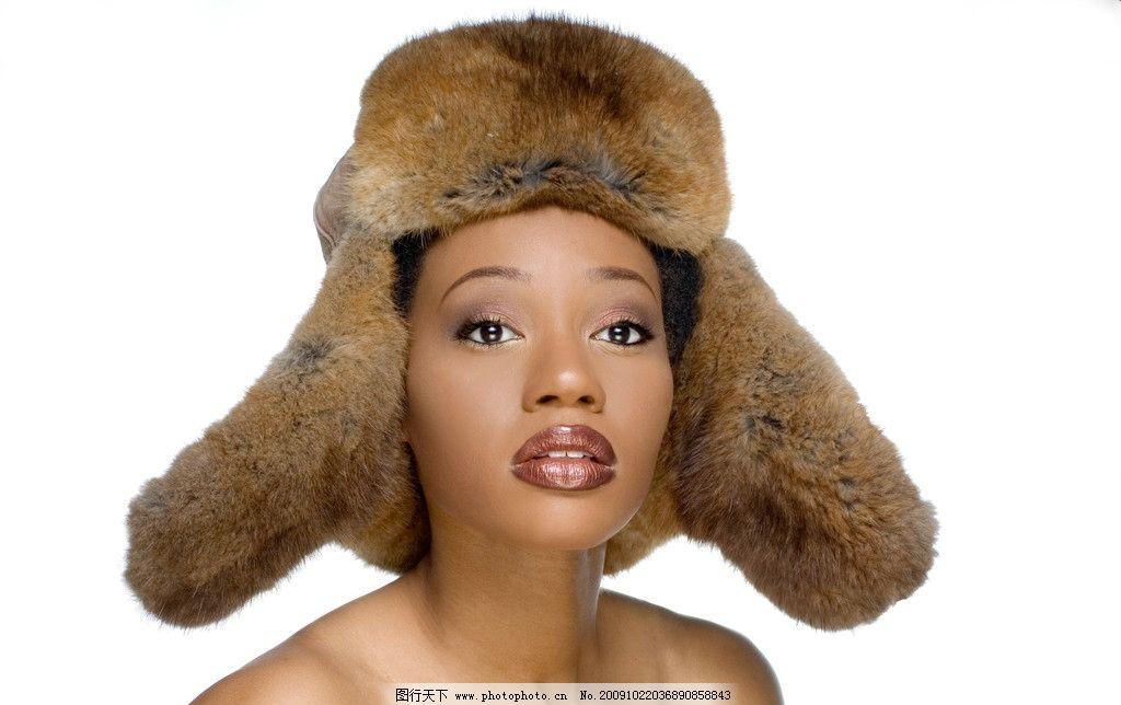 时尚帽子图片