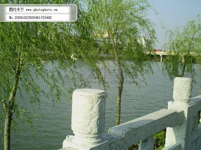 江邊風景圖片