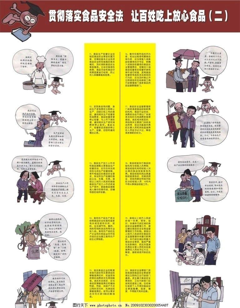 食品安全宣传挂版 五五普法宣传 五五普法挂版 食品安全 展板模板