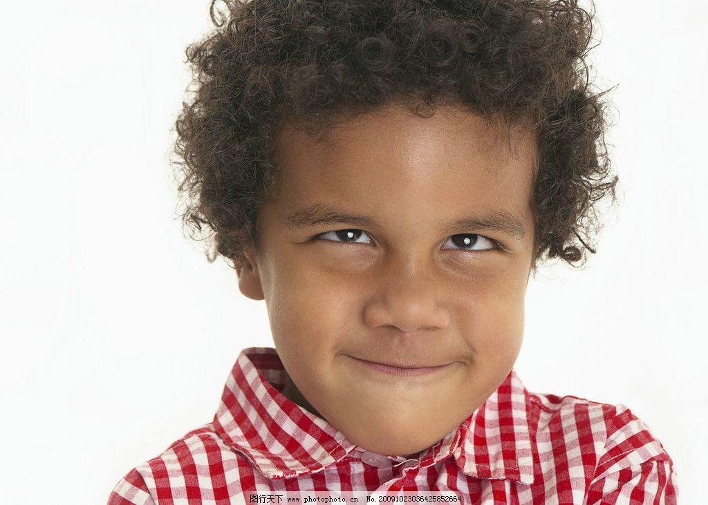 非洲男孩 可爱 黑人 儿童幼儿 摄影