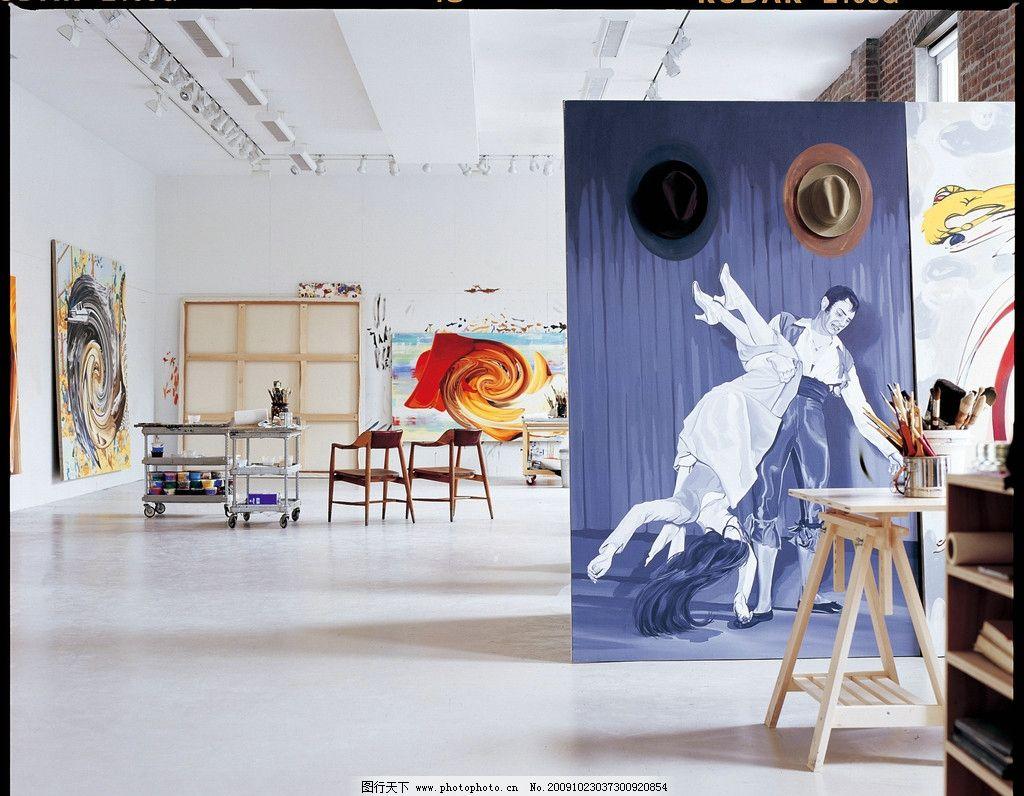 室内设计 画室 家居生活 生活百科 摄影 350dpi jpg图片