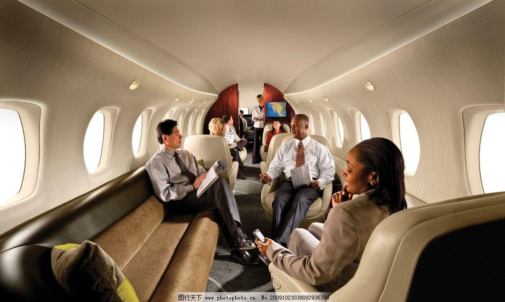 小型飞机内部图片