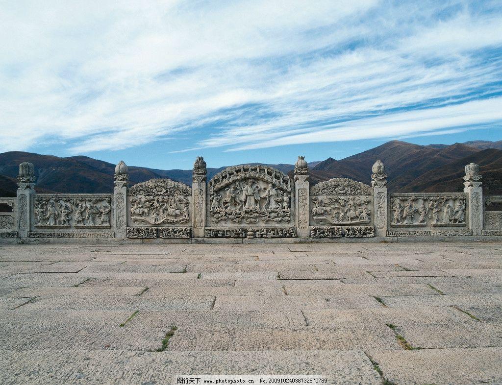 石雕 雕刻 人物 云 天空 桥栏 古代 中国 桥 美术绘画 文化艺术 摄影