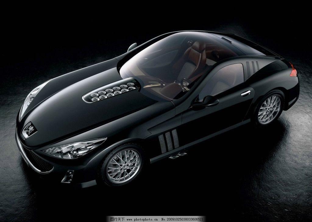 跑车 黑色 汽车 车子大全 交通工具 现代科技 摄影