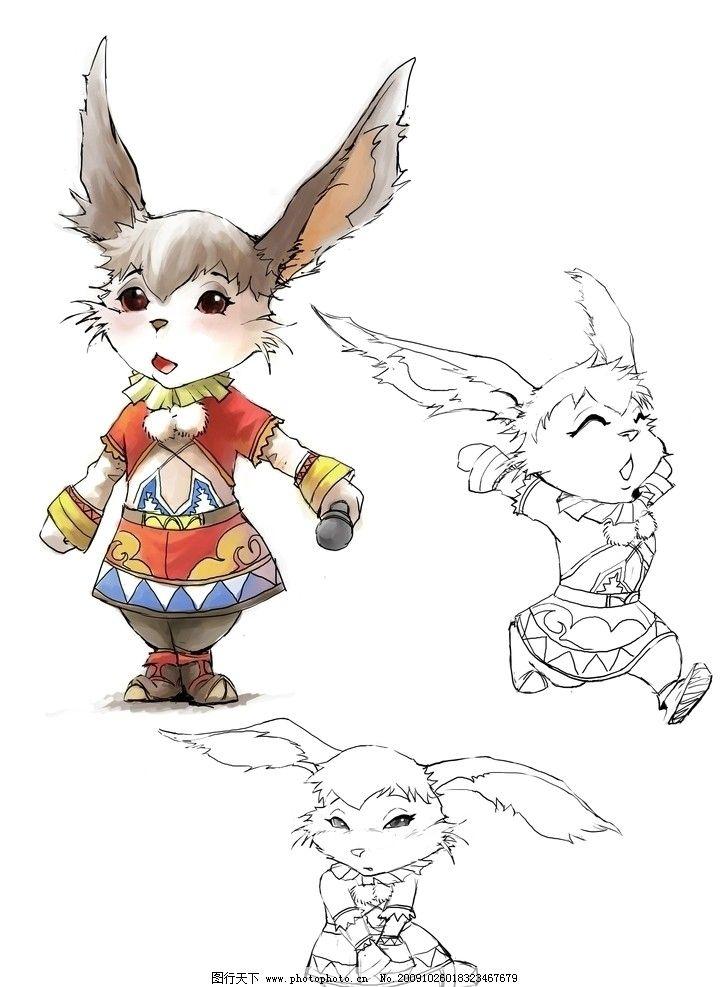兔子图片_动漫人物_动漫卡通