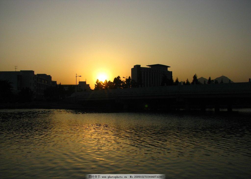 日落图片_山水风景_自然景观