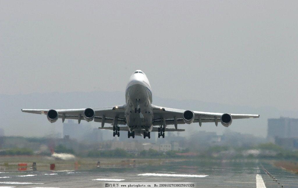 客机 航空 民航 飞机 跑道 起飞 交通工具 现代科技 摄影 72dpi jpg