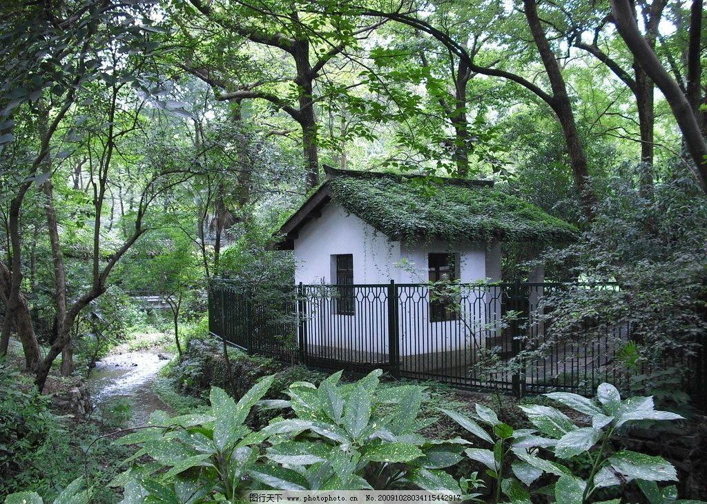 灵隐寺美图 风景 树木 房子 漂亮 清晰 摄影 旅游摄影
