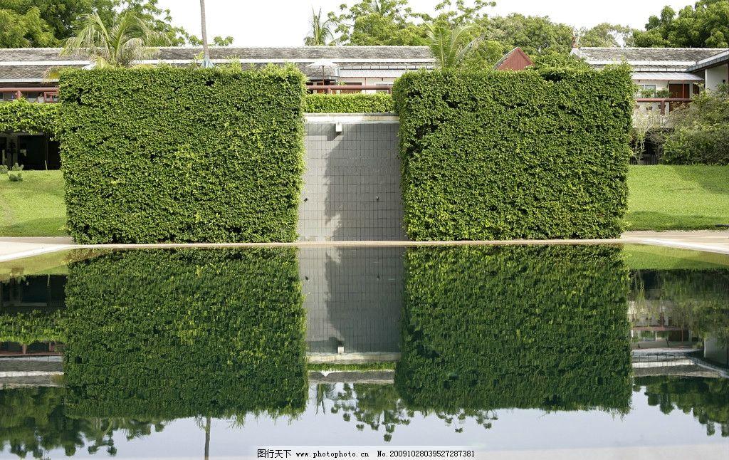 欧式 园林 造型墙
