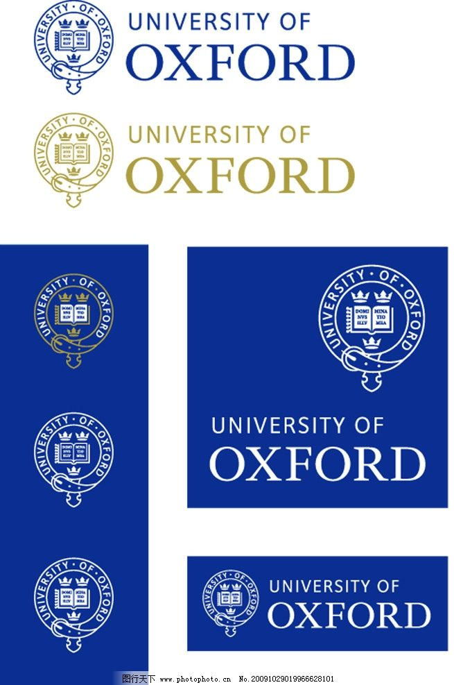 牛津大学logo university of oxford图片