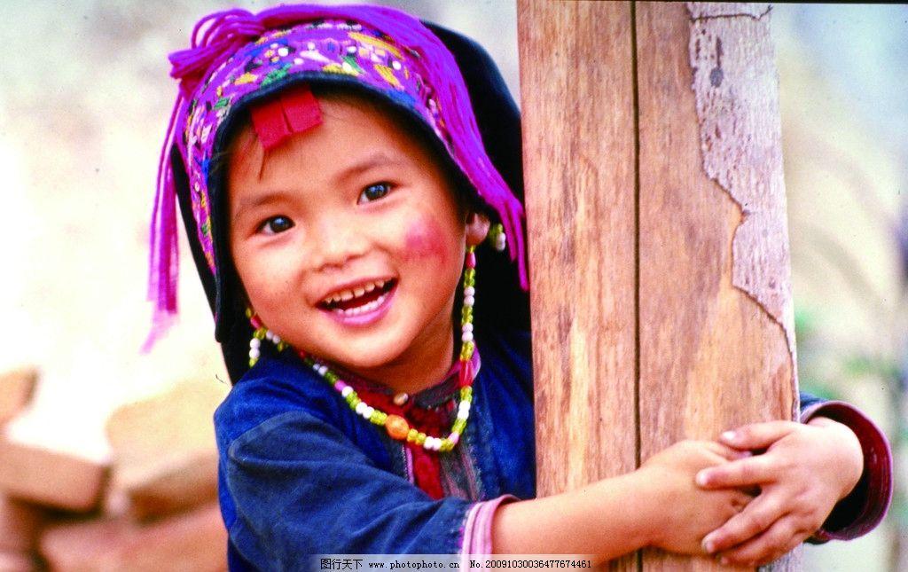 儿童可爱笑脸图片