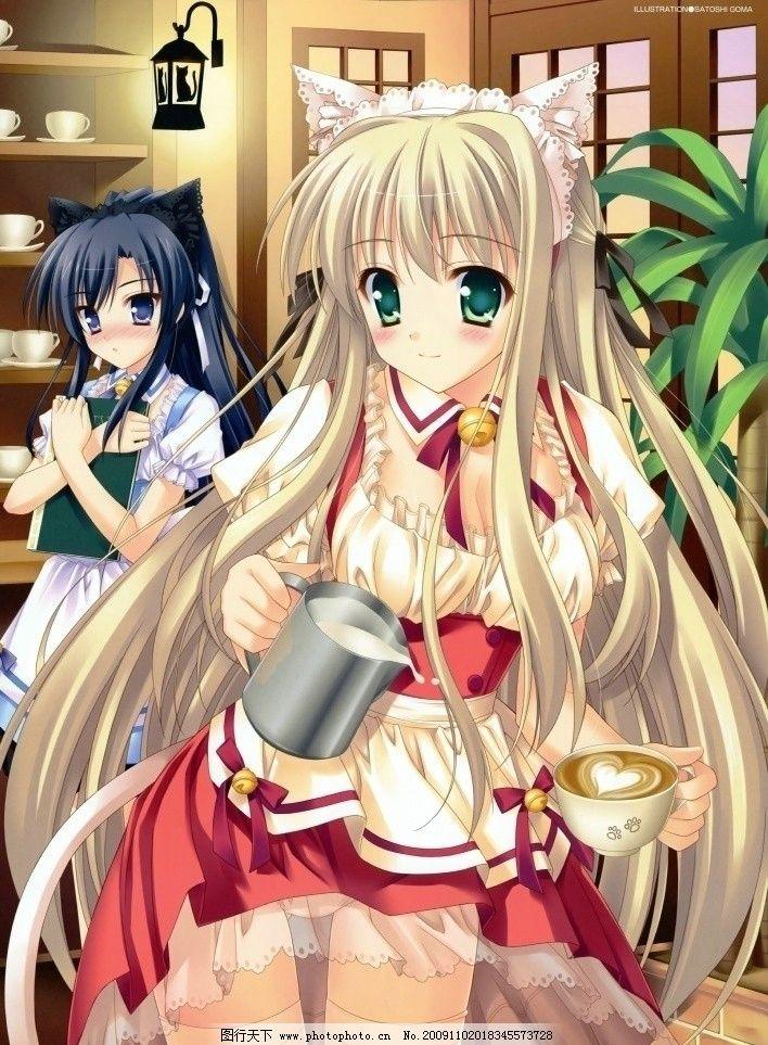 动漫美女2 动漫 美女 日本 游戏 cg 人物 清纯 可爱 动漫美女 动漫