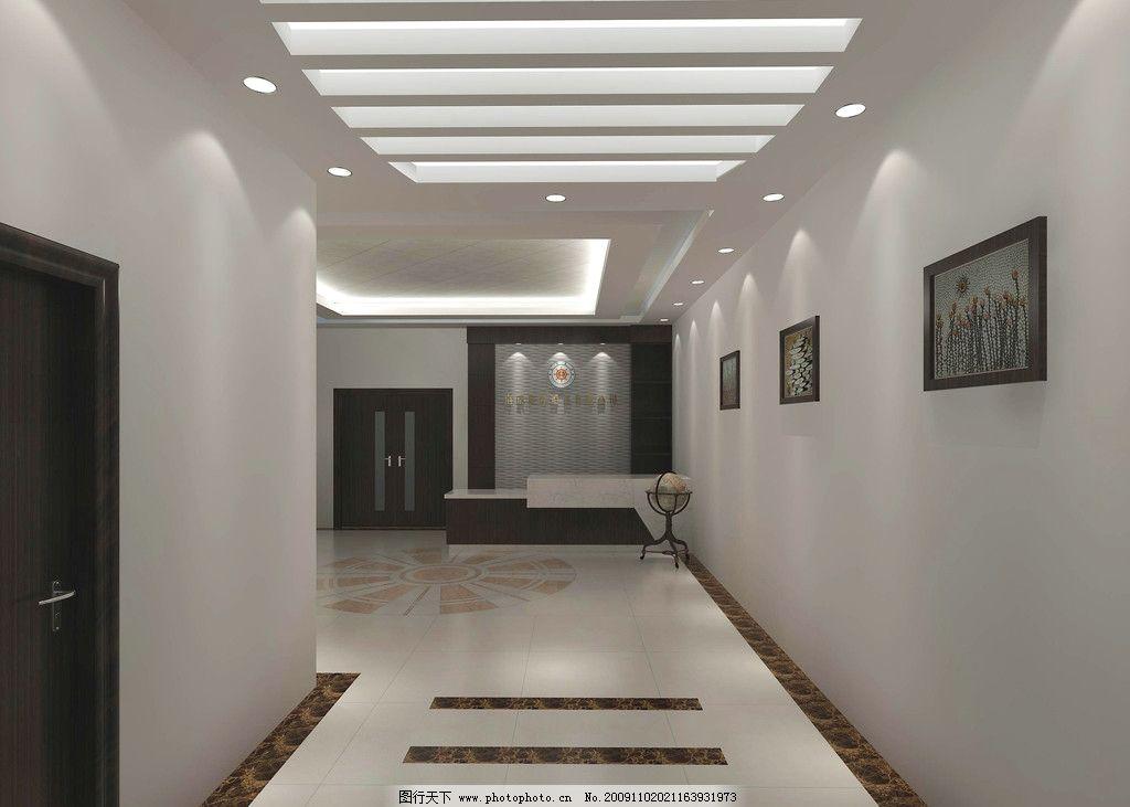 公司形象设计 形象墙 挂画 过道 走廊 服务台 吧台 大厅 会客厅