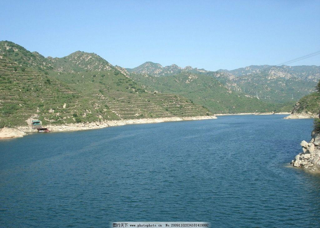 青龙峡风景图片