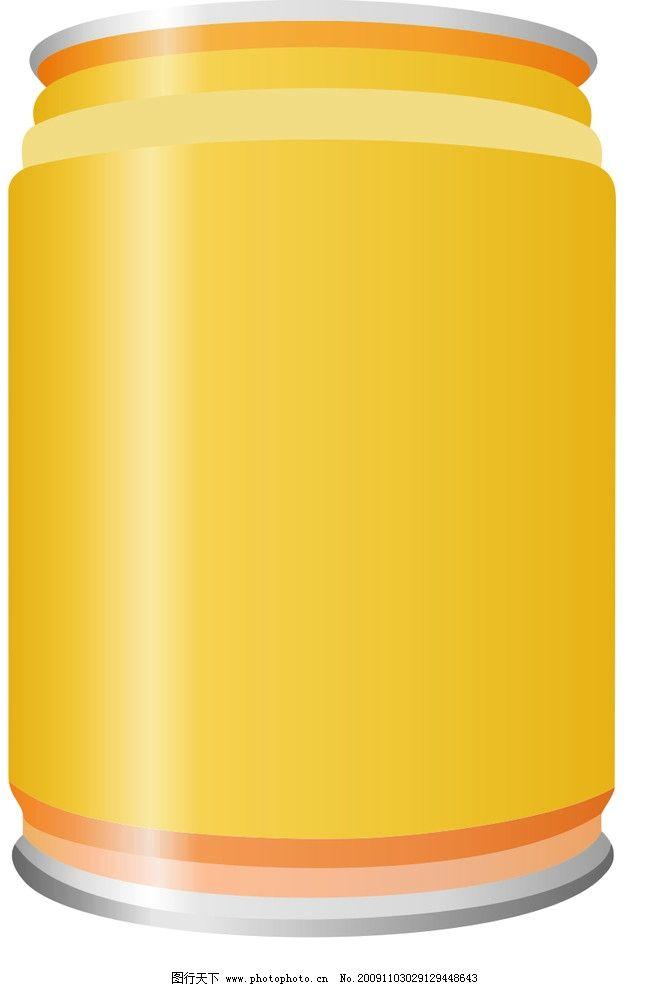 易拉罐 包装设计 广告设计 矢量