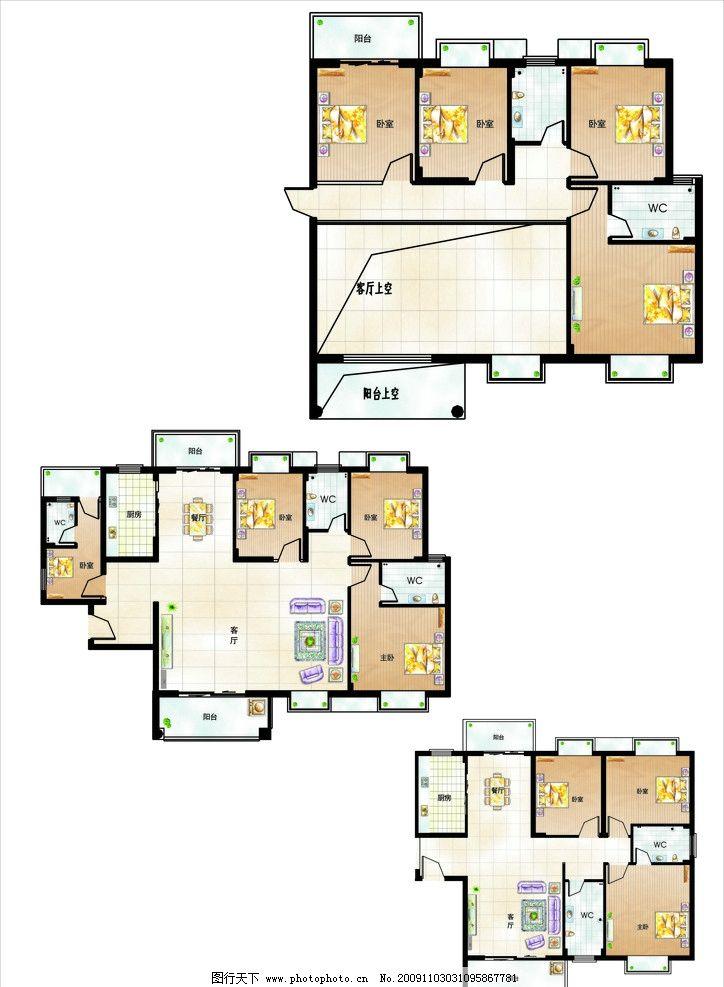 室内平面图图片_其他_广告设计
