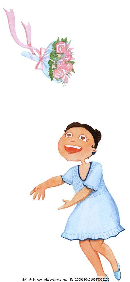 小女孩 小姑娘图片_其他_动漫卡通_图行天下图库