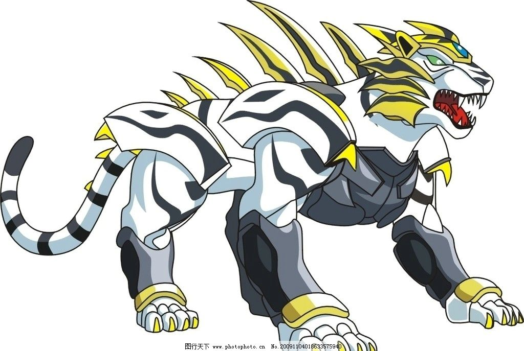 动物卡通 老虎 其他 动漫动画 设计 300dpi jpg