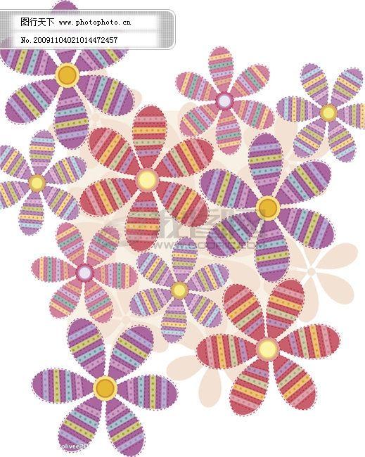 花朵底纹 花朵底纹免费下载 背景 可爱 装饰花纹 图片素材 底纹边框