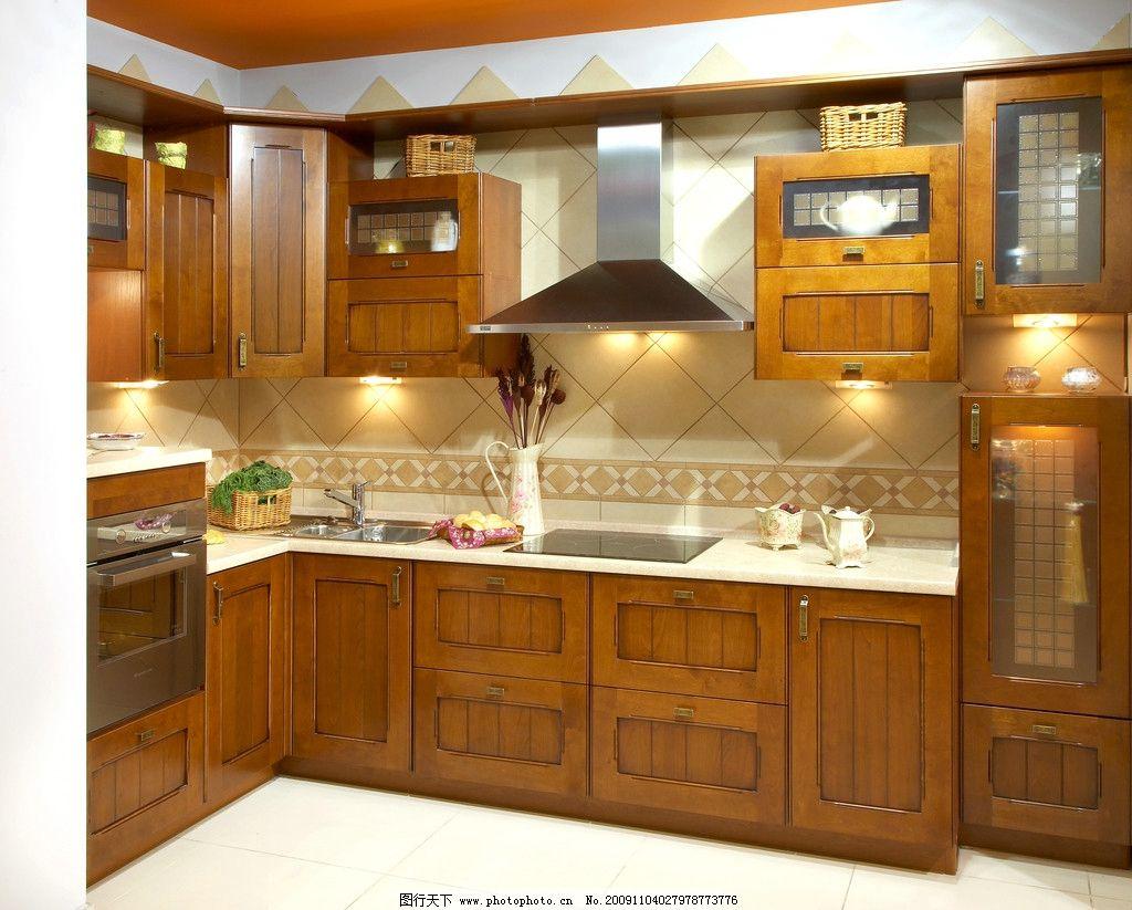 厨房装修效果图图片_室内设计_环境设计_图行天下图库