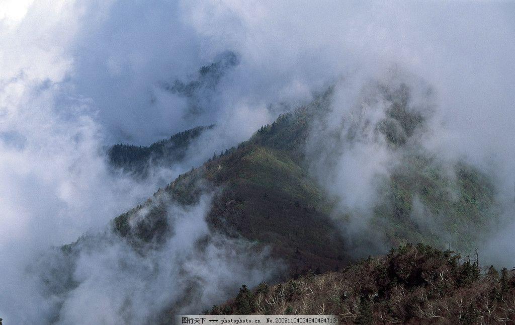 山雾 山峰 云雾 意境 仙境 缥缈 摄影