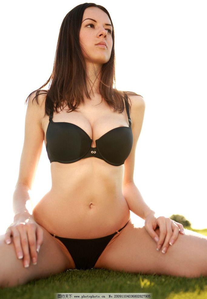 比基尼模特 比基尼 泳装 内衣 女性 女郎 女人 人物 美女 性感 模特