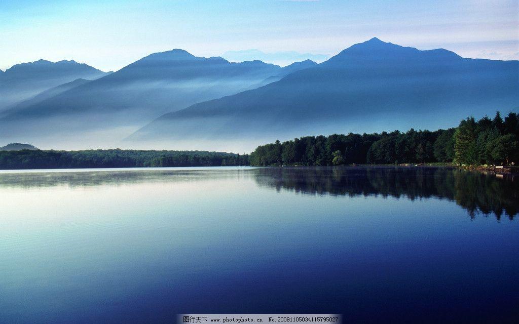 山水画 平静 诗意 清澈 山水 自然风景 旅游摄影 摄影 300dpi jpg