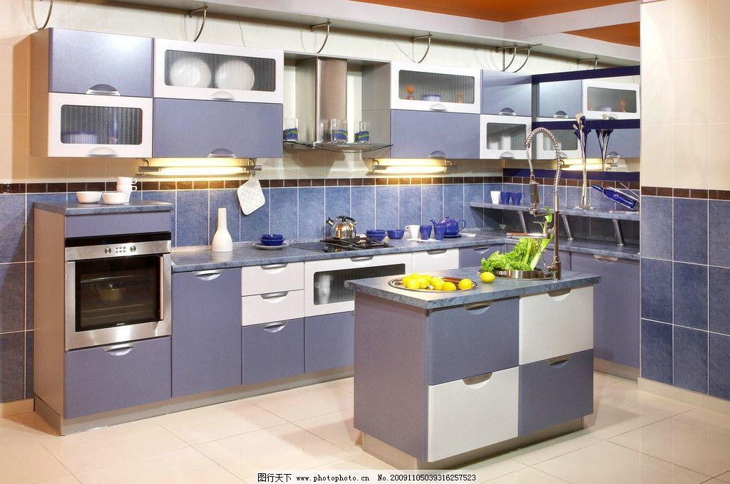 厨房装修图片 小区 别墅 伙房 柜子 厨房装修效果图 欧式风格 家居
