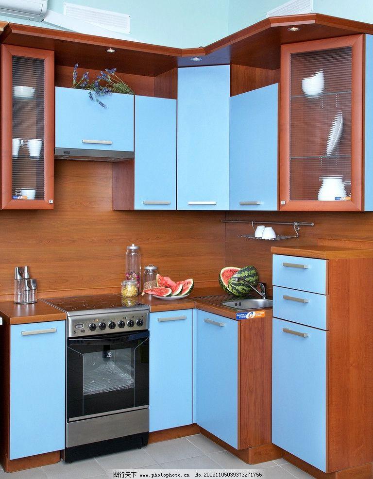 厨房 厨房高清图片 厨房装修图片 小区 别墅 伙房 厨柜 柜子