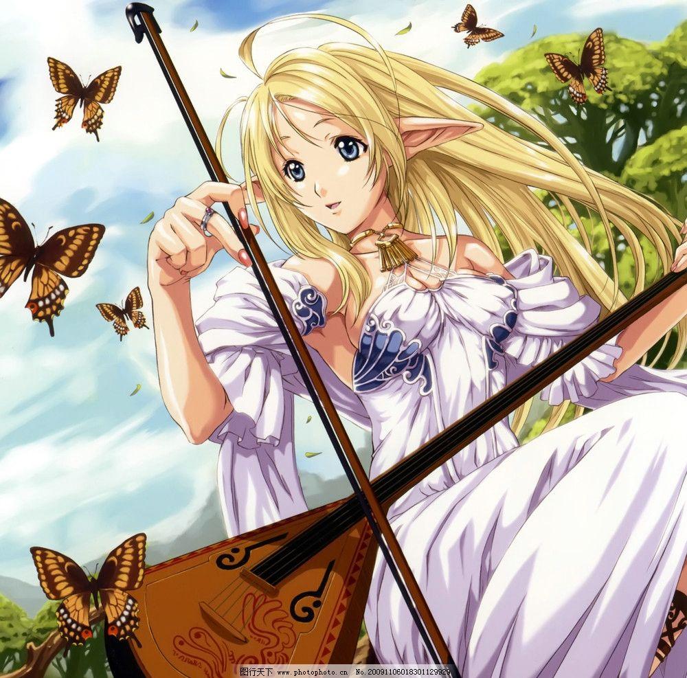 乐器 森林 动漫 日本 动漫美女