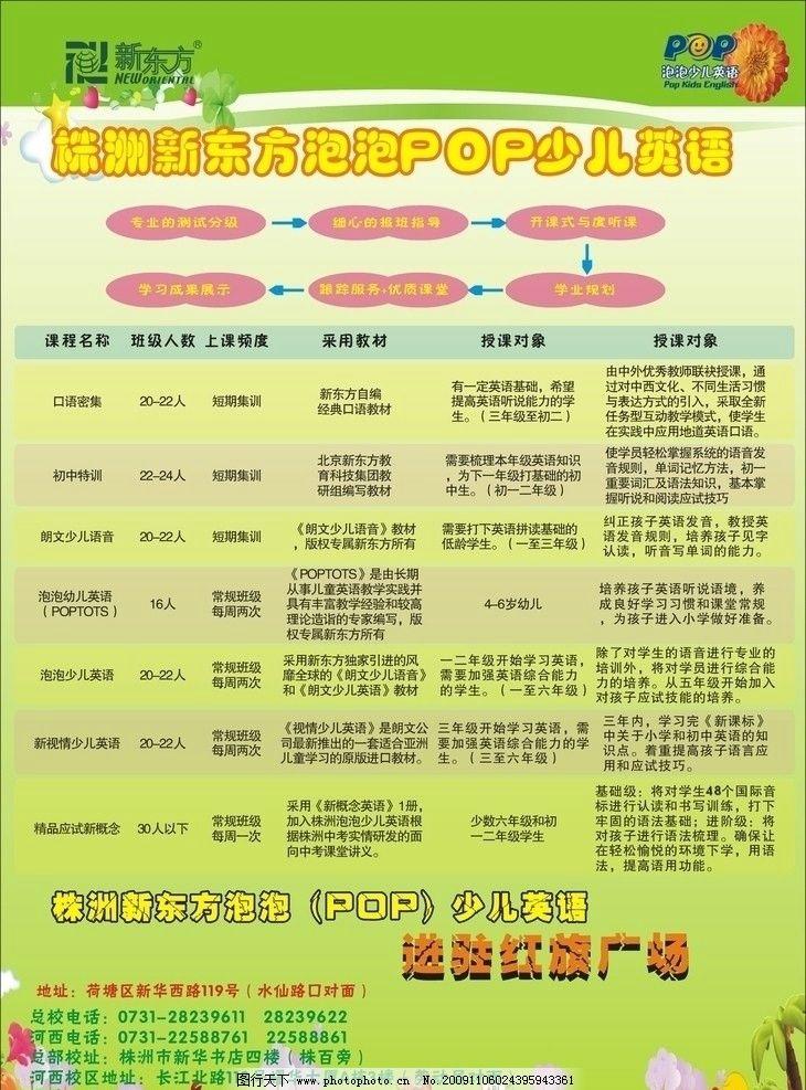 新东方 海报 家庭 教育 少儿 演讲 中国 新时期 进驻 红旗广场 课程表