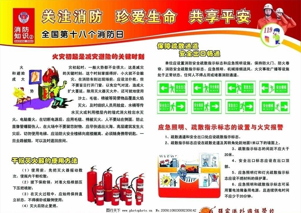 消防展板2图片