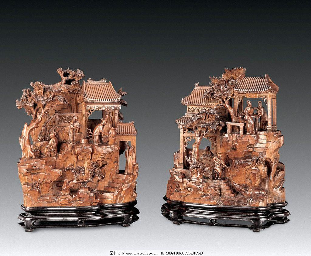 木雕仿古董图片