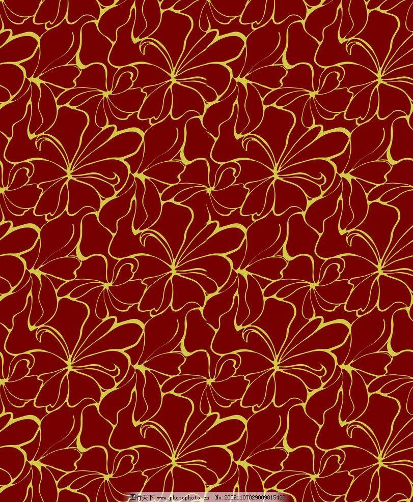 时尚叶纹四 时尚花纹 古代花纹 移门花纹 玻璃花纹 花 其他设计 环境